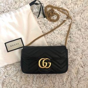 8e5d106345c4 Gucci Bags   Gg Marmont Velvet Crossbody Bag   Poshmark
